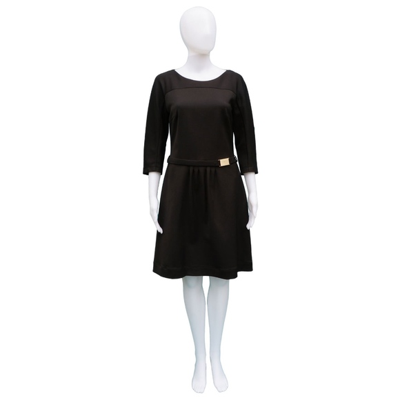 Boss Dresses & Skirts - BOSS BLACK LABEL BLACK 3/4 SLEEVE DRESS
